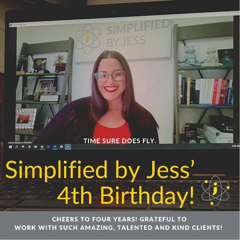 Celebrating Four Years!